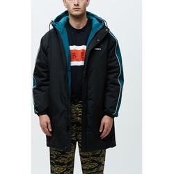 vaatteet Miehet Tuulitakit Obey Major stadium jacket Musta