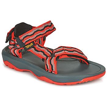 kengät Tytöt Sandaalit ja avokkaat Teva HURRICANE XLT2 Red / Black