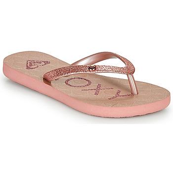 kengät Tytöt Varvassandaalit Roxy VIVA GLTR III Pink