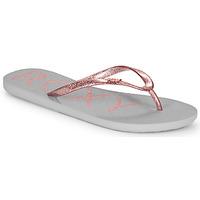 kengät Naiset Varvassandaalit Roxy VIVA SPARKLE Grey / Pink
