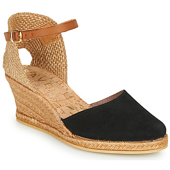 kengät Naiset Espadrillot Ravel ETNA II Black