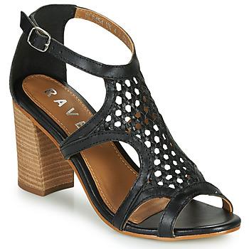 kengät Naiset Sandaalit ja avokkaat Ravel COREEN Black