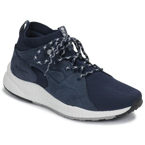 kengät Miehet Urheilukengät Columbia SH/FT OUTDRY MID Laivastonsininen