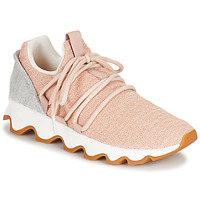 kengät Naiset Matalavartiset tennarit Sorel KINETIC LACE Pink