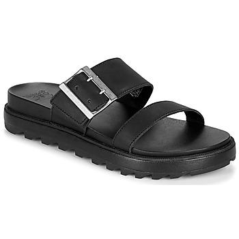 kengät Naiset Sandaalit ja avokkaat Sorel ROAMING BUCKLE SLIDE Black