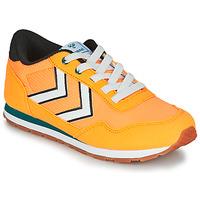 kengät Lapset Matalavartiset tennarit Hummel REFLEX JR Yellow
