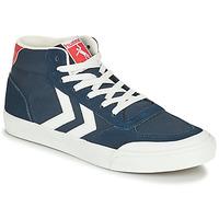 kengät Miehet Korkeavartiset tennarit Hummel STADIL 3.0 CLASSIC HIGH Sininen