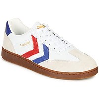 kengät Miehet Matalavartiset tennarit Hummel VM78 CPH LEATHER White / Red / Blue
