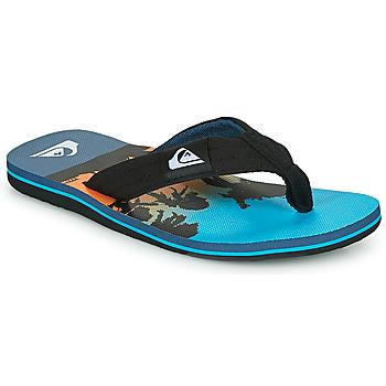 kengät Lapset Varvassandaalit Quiksilver MOLOKAI LAYBACK Sininen