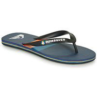 kengät Miehet Varvassandaalit Quiksilver MOLOKAI SEASONS Musta / Sininen / Oranssi