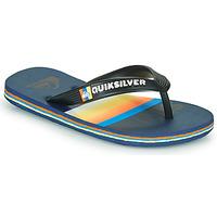 kengät Lapset Varvassandaalit Quiksilver MOLOKAI SLAB Sininen / Oranssi / Musta