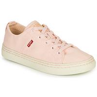kengät Naiset Matalavartiset tennarit Levi's SHERWOOD S LOW Vaaleanpunainen
