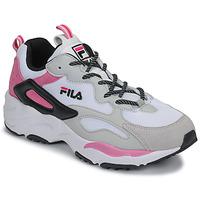 kengät Naiset Matalavartiset tennarit Fila RAY TRACER CB WMN White / Pink
