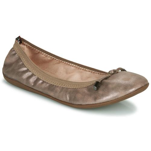 kengät Naiset Balleriinat Les Petites Bombes AVA Pronssi