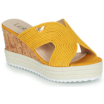 kengät Naiset Sandaalit Les Petites Bombes LIDY Sinappi