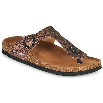 kengät Naiset Varvassandaalit Les Petites Bombes TANIA Pronssi