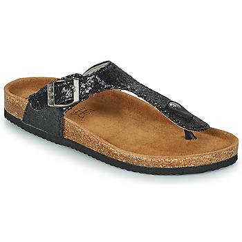 kengät Naiset Varvassandaalit Les Petites Bombes TANIA Musta