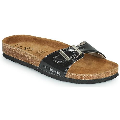 kengät Naiset Sandaalit Les Petites Bombes ROSA Black