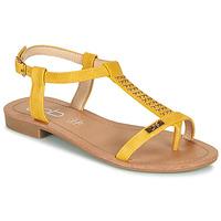 kengät Naiset Sandaalit ja avokkaat Les Petites Bombes EMILIE Sinappi