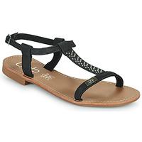kengät Naiset Sandaalit ja avokkaat Les Petites Bombes EMILIE Musta