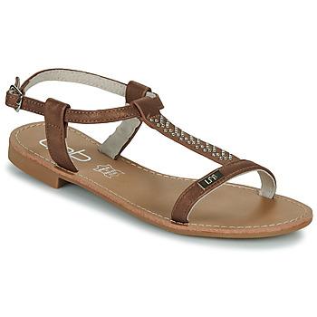 kengät Naiset Sandaalit ja avokkaat Les Petites Bombes EMILIE Kamelinruskea