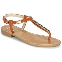 kengät Naiset Sandaalit ja avokkaat Les Petites Bombes MANEL Kamelinruskea
