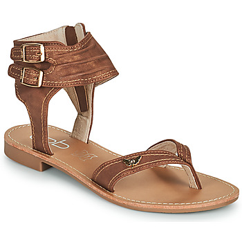 kengät Naiset Sandaalit ja avokkaat Les Petites Bombes CAMEL Kamelinruskea