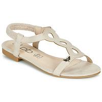 kengät Naiset Sandaalit ja avokkaat Les Petites Bombes FLORA Beige