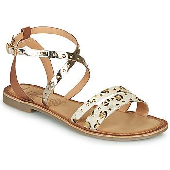 kengät Naiset Sandaalit ja avokkaat Les Petites Bombes AGATHE Kulta