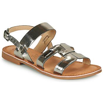 kengät Naiset Sandaalit ja avokkaat Les Petites Bombes BRANDY Hopea