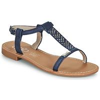 kengät Naiset Sandaalit ja avokkaat Les Petites Bombes EMILIE Laivastonsininen