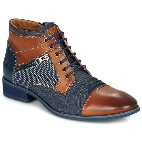 kengät Miehet Bootsit Kdopa BILLY Brown / Blue