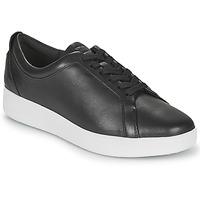 kengät Naiset Matalavartiset tennarit FitFlop RALLY SNEAKERS Black