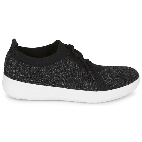Fitflop F-sporty Uberknit Sneakers Black - Ilmainen Toimitus- Kengät Matalavartiset Tennarit Naiset 70