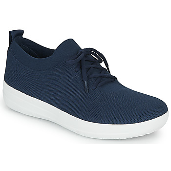 kengät Naiset Matalavartiset tennarit FitFlop F-SPORTY UBERKNIT SNEAKERS Blue