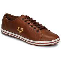 kengät Miehet Matalavartiset tennarit Fred Perry KINGSTON LEATHER Ruskea