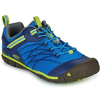 kengät Pojat Urheilusandaalit Keen CHANDLER CNX Blue / Green