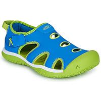 kengät Lapset Urheilusandaalit Keen STINGRAY Blue / Green