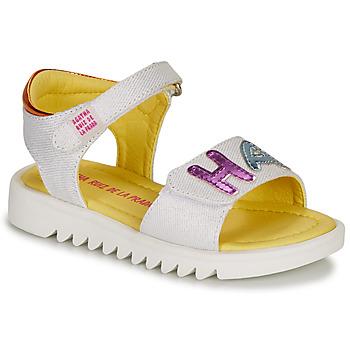 kengät Tytöt Sandaalit ja avokkaat Agatha Ruiz de la Prada SMILES White