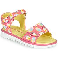 kengät Tytöt Sandaalit ja avokkaat Agatha Ruiz de la Prada SMILES Pink / Monivärinen