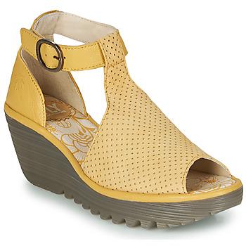 kengät Naiset Sandaalit ja avokkaat Fly London YALLS Yellow