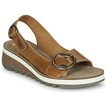 kengät Naiset Sandaalit ja avokkaat Fly London TRAM2 FLY Camel