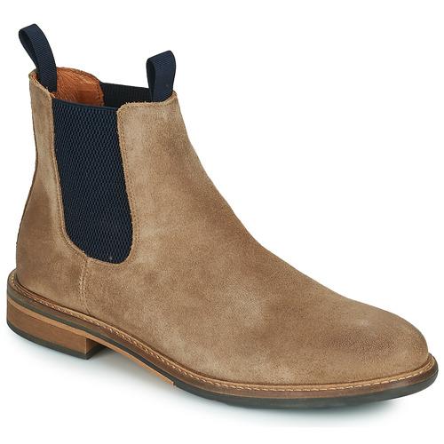 kengät Miehet Bootsit Schmoove PILOT-CHELSEA Ruskea / Sininen