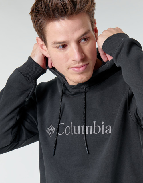 Columbia Csc Basic Logo Hoodie Black - Ilmainen Toimitus- Vaatteet Svetari Miehet 48