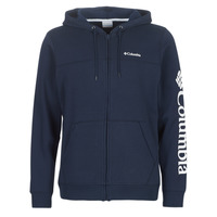 vaatteet Miehet Svetari Columbia COLUMBIA LOGO FLEECE FULL ZIP Blue