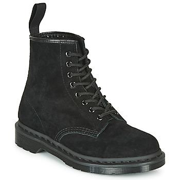 kengät Bootsit Dr Martens 1460 MONO SOFT BUCK Black