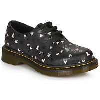 kengät Naiset Derby-kengät Dr Martens 1461 HEARTS Black