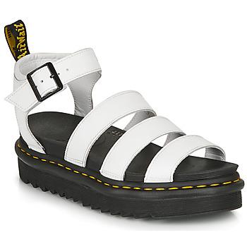 kengät Naiset Sandaalit ja avokkaat Dr Martens BLAIRE HYDRO White