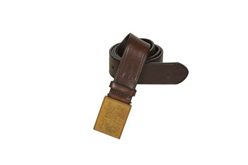 Asusteet / tarvikkeet Miehet Vyöt Polo Ralph Lauren PLO HRTG BLT-CASUAL-SMOOTH LEATHER Brown