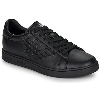 kengät Matalavartiset tennarit Emporio Armani EA7 CLASSIC NEW CC Black